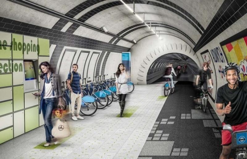 Linhas desativadas de metrô transformadas em ciclovias