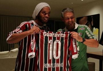 Renato Gaúcho e Ronaldinho Gaúcho. Muitas coisas em comum