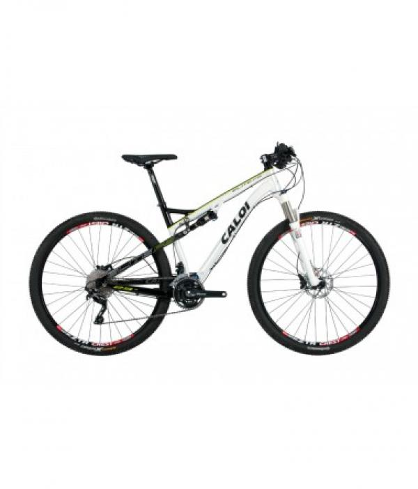 Bicicleta Caloi Elite Fs 29er Full Tam 18.5