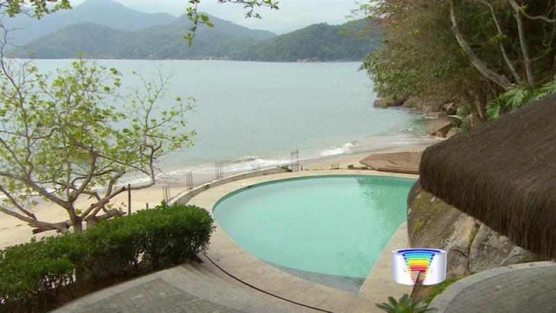 Ilha paradisíaca é leiloada com lance mínimo de R$ 25 milhões em Ubatuba